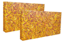 Laterite Wall Cladding Tiles - Yellow